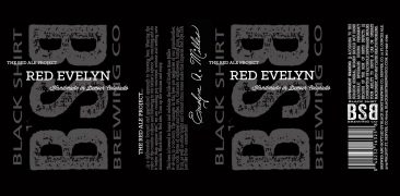 Red Evelyn Label Design